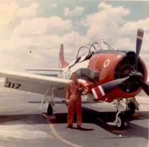 T-28 front view VT-3 1966